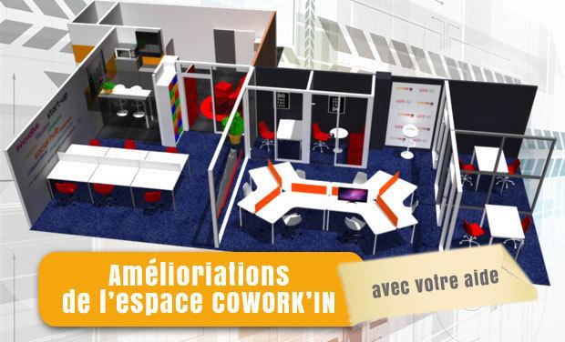 Visuel du projet COWORK'IN, l'espace de travail collaboratif à l'écoute des coworkers