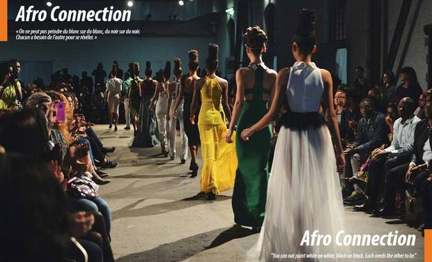 Project visual Afro Connection Magazine