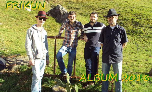Visueel van project Frikun : Album 2016