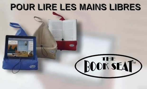 Project visual THE BOOK SEAT Pour Lire les Mains Libres