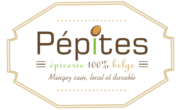 Visueel van project Pépites. Une épicerie fine 100% belge