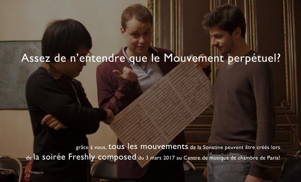 Visuel du projet Découvrez en mars 2017 une Sonatine pour violon et piano de Charly Mandon