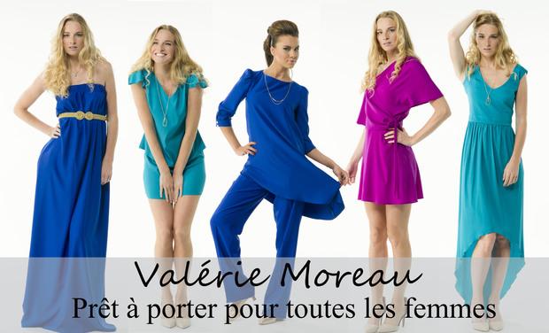 Visuel du projet Valérie Moreau - prêt à porter pour TOUTES les femmes