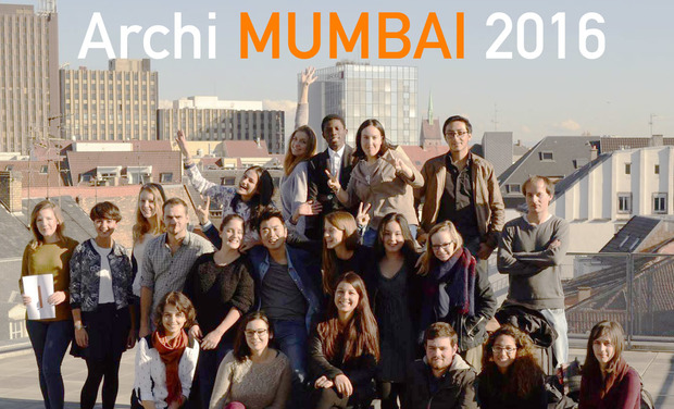 Visuel du projet ArchiMUMBAI 2016