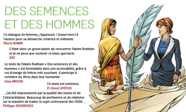 Visueel van project Des Semences et des Hommes