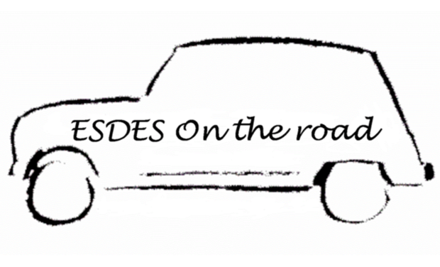 Visueel van project ESDES On the road