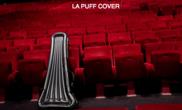 Visuel du projet LA PuffCover - Housse gonflable pour guitares et basses électriques !