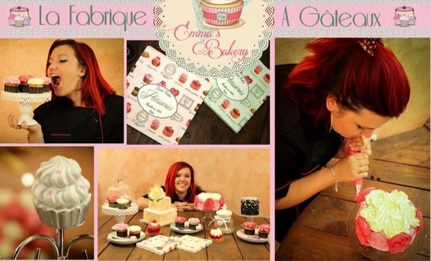 Visuel du projet Emma's Bakery- La fabrique à gâteaux