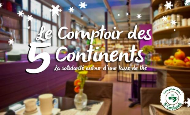 Project visual Le Comptoir des 5 Continents