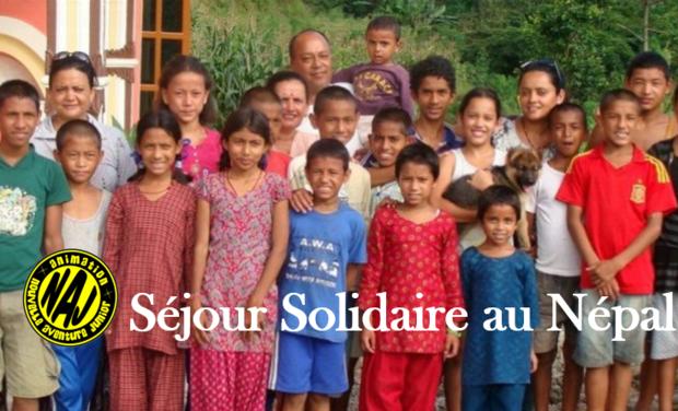 Visuel du projet Séjour Solidaire au Népal
