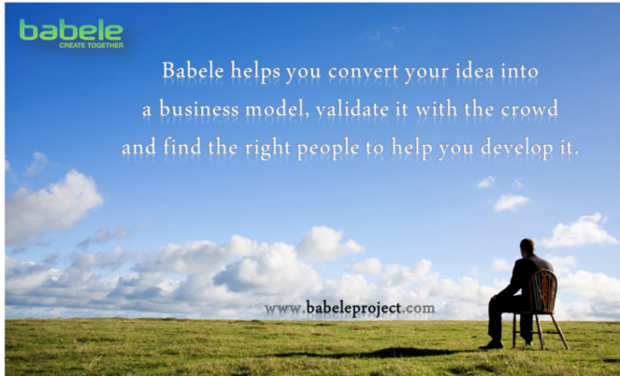 Visuel du projet BABELE - create together