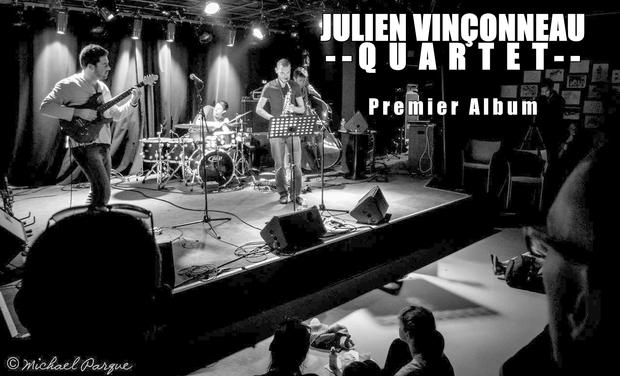 Visuel du projet Julien Vinçonneau Quartet - Premier Album