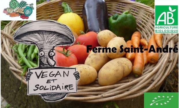 Visuel du projet Nouveaux bocaux Vegan de la Ferme Saint-André !