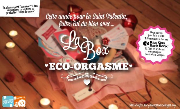 """Project visual Idée Saint Valentin : des """"box éco-orgasme"""" engagées"""
