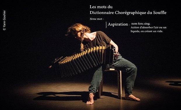 """Visuel du projet """"Aspiration"""", 3ème volet du projet """"Dictionnaire Chorégraphique du Souffle"""""""