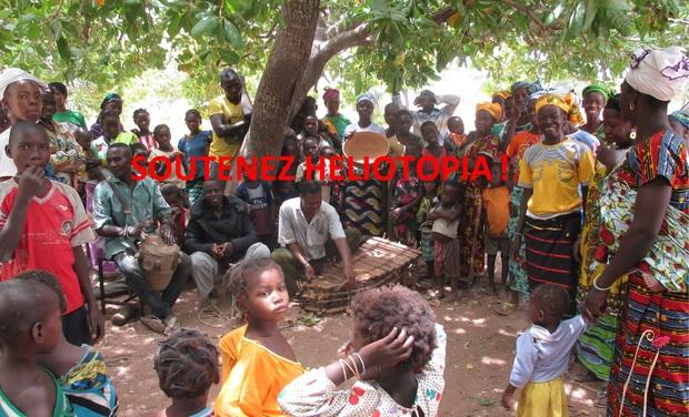 Visuel du projet Héliotopia construit une école au Burkina-Faso