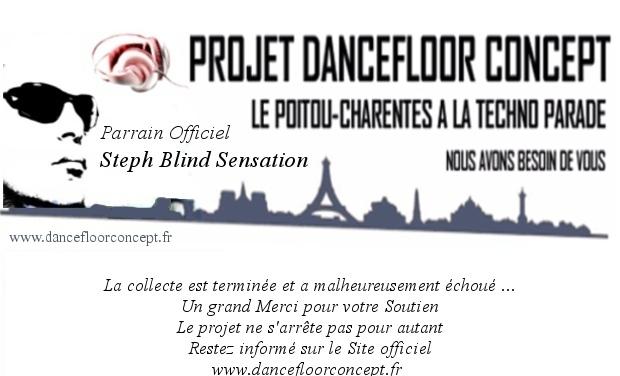 Project visual Le Poitou-Charentes à la Techno Parade