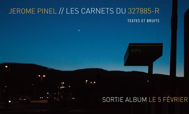 """Visuel du projet """"Les carnets du 327885R"""" (Textes et Bruits)"""