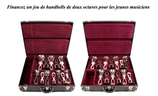 Visueel van project Handbells Perpignan