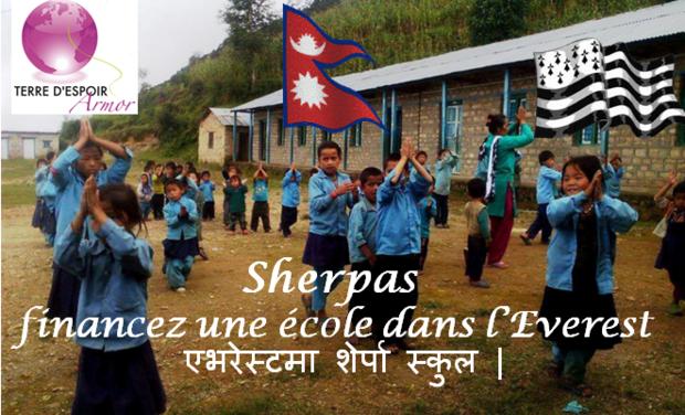 Visuel du projet Sherpas, financez une école dans l'Everest