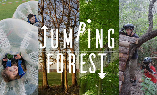 Project visual Jumping Forest, le parc de loisirs en plein air du Sud Seine-et-Marne