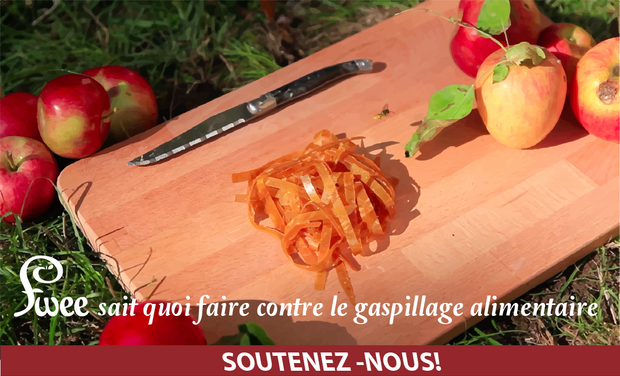 Project visual Fwee sait quoi faire contre le gaspillage alimentaire