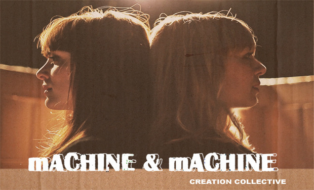 "Visueel van project ""Machine & Machine"", cabaret furieux!"