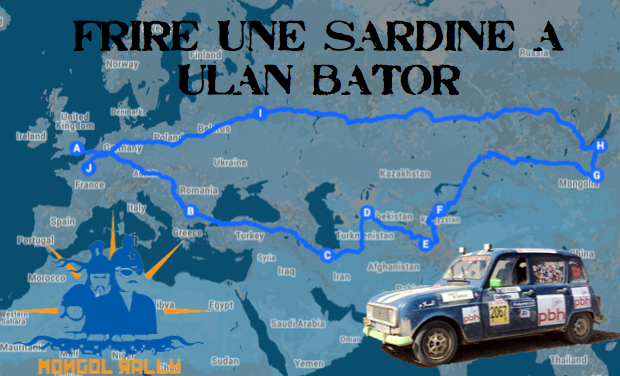 Visueel van project Frire une sardine à Ulan Bathor