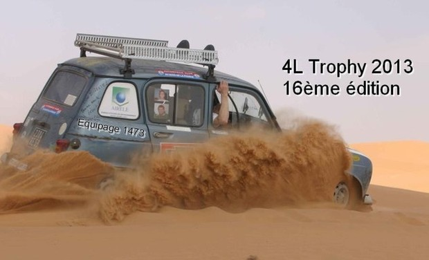 Project visual Les gazous débarquent dans le désert - 4L Trophy 2013 - Equipage 1473
