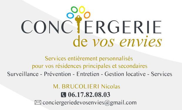 Project visual Conciergerie de vos envies