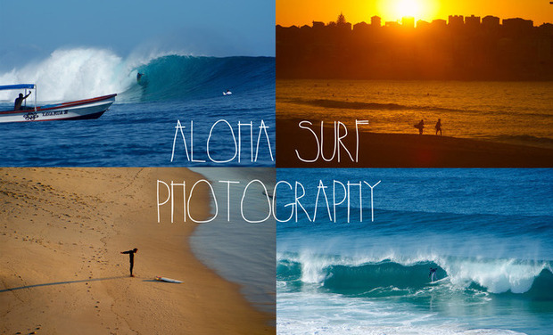 Project visual Aloha Surf Photography
