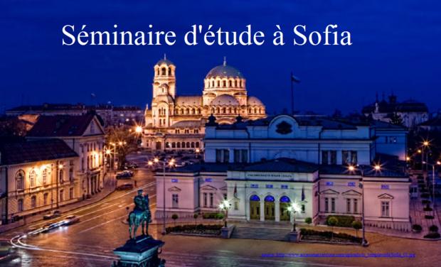 Visuel du projet Séminaire d'étude à SOFIA