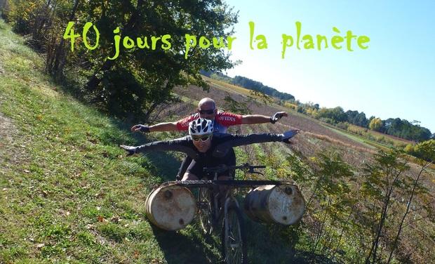 Project visual 40 jours pour la planete