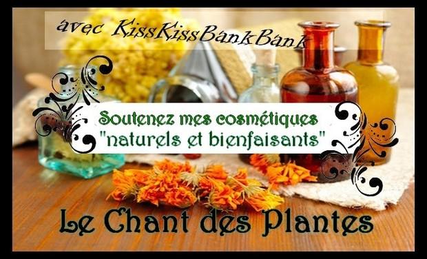 Visuel du projet Le Chant des Plantes et ses cosmétiques bienfaisants!!!