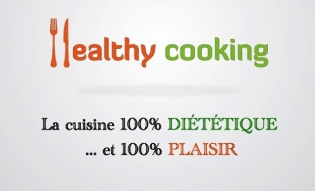 Project visual Healthy Cooking - La Cuisine 100 % Diététique et 100 % Plaisir