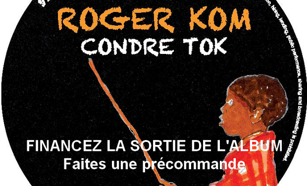 "Visuel du projet Roger Kom ""Condre Tok"" and Ghetto Blaster Friends"