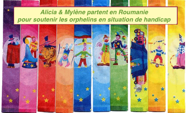 Project visual L'humanitaire au profit des Orphelins Roumains en situation de Handicap