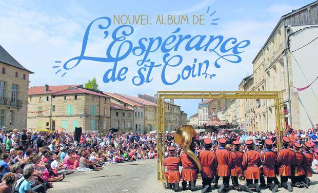 Visuel du projet Nouvel album de l'Espérance de St-Coin !