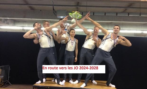 Visuel du projet Objectif JO 2024-2028 pour le Club de Gymnastique Avionnais