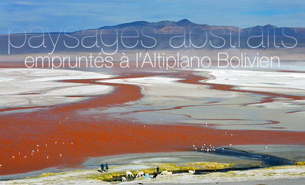 Project visual Paysages abstraits boliviens