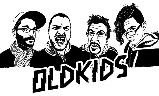 Visueel van project OldKids - 1er EP