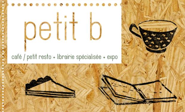 Visuel du projet Petit b // café • librairie spécialisée • expo