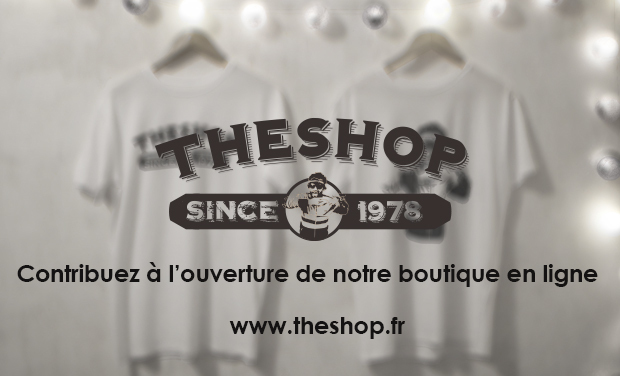 Project visual TheShop : boutique de Tee-shirts en ligne et bien plus