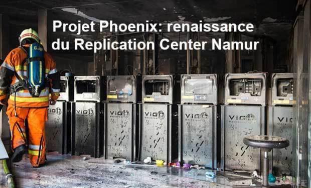 Visuel du projet Projet Phoenix: renaissance du Replication Center Namur