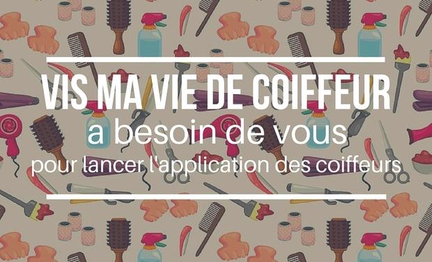 Visueel van project Vis ma vie de coiffeur : L'application de partage entre coiffeurs