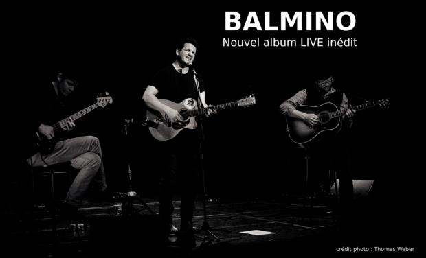 Visuel du projet Nouvel album Live Balmino