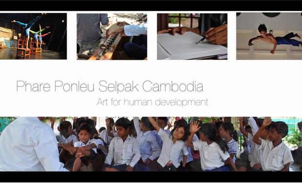 Project visual Les étoiles de Battambang