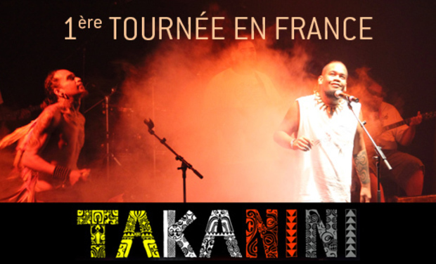 Project visual 1ère Tournée de Takanini en France