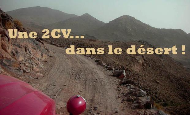 Visueel van project Une 2CV... dans le désert !