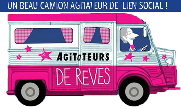 Project visual AIDEZ-NOUS A RESTAURER LE CAMION PARTICIPATIF DES AGITATEURS DE REVES !